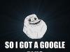 Google Plus incontra Forever Alone ed è subito amore