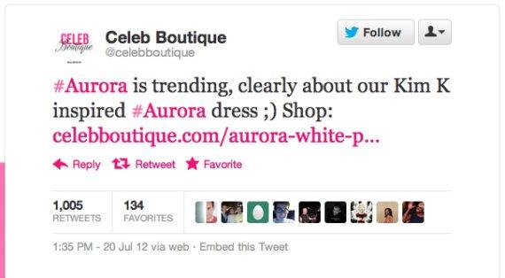 Celeb Boutique scivola sui social network
