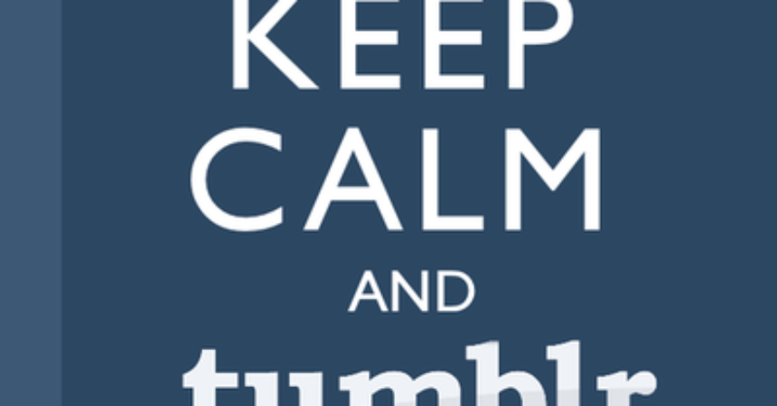 Una Guida a Tumblr – Tumblr for dummies