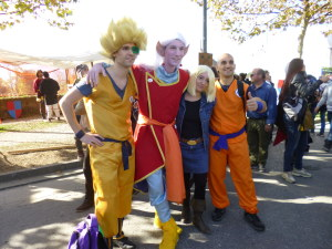 lucca comics and games 2014 cosplayer dragon ball