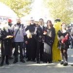 lucca comics and games 2014 cosplayer famiglia addams