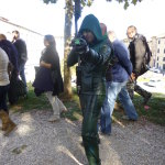lucca comics and games 2014 cosplayer arrow