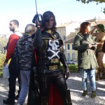 lucca comics and games 2014 cosplayer capitan harlock