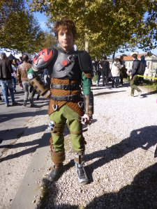 lucca comics and games 2014 cosplayer hiccup di dragon trainer