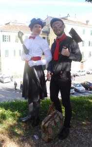 lucca comics and games 2014 cosplayer mary poppins
