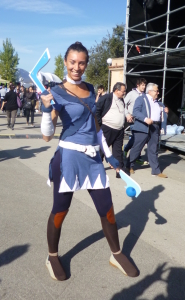 lucca comics and games 2014 cosplayer sokka avatar the last airbender