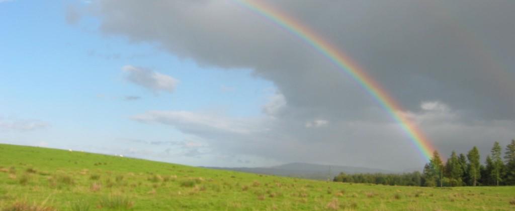 Arcobaleno in Scozia 2004