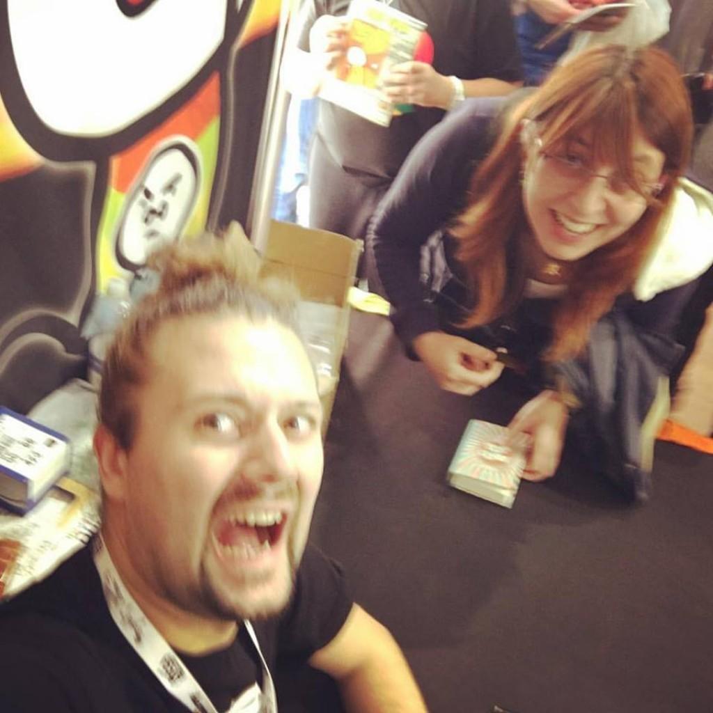 Ho incontrato Sio al Lucca Comics