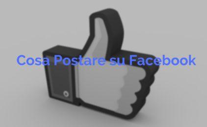 10 idee per i tuoi post su Facebook