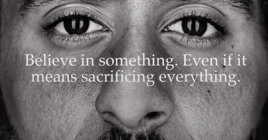 Colin Kaepernick, Nike e la pubblicità che prende posizione