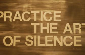 Si può anche stare zitti